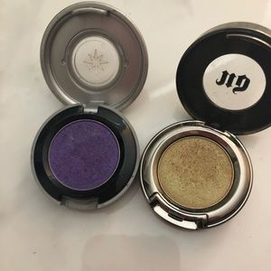 Two urban decay eye shadows